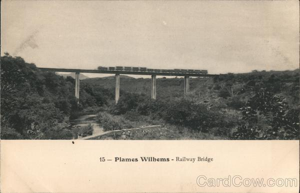 15- Plames Wilhems- Railway Bridge Plames Wilhems District Mauritius