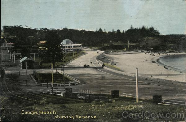 Coogee Beach, Showing Reserve Australia