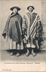 A Wedding of Quechua Indians