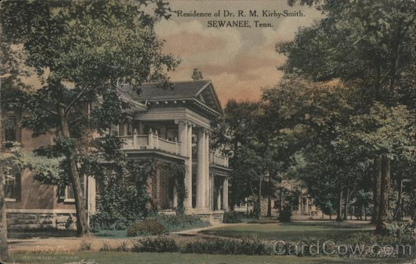 Residence of Dr. R.M. Kirby-Smith Sewanee Tennessee