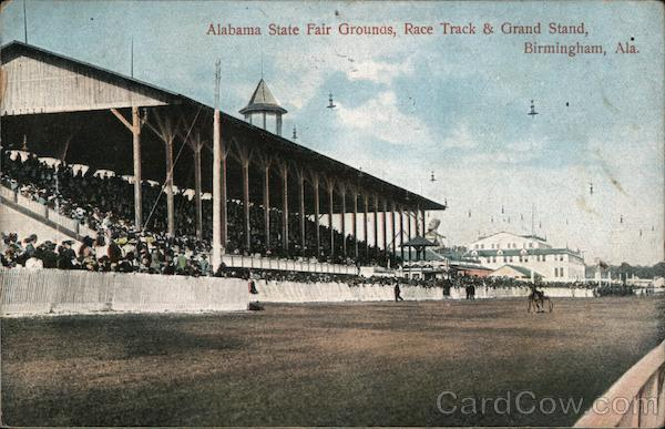 Alabama State Fair Grounds, Race Track & Grand Stand Birmingham
