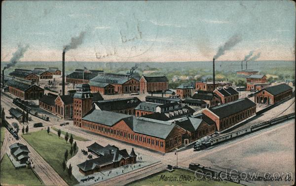 Plant of the Marion Steam Shovel Company Ohio