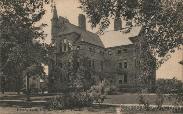Peters Hall, Oberlin College Ohio