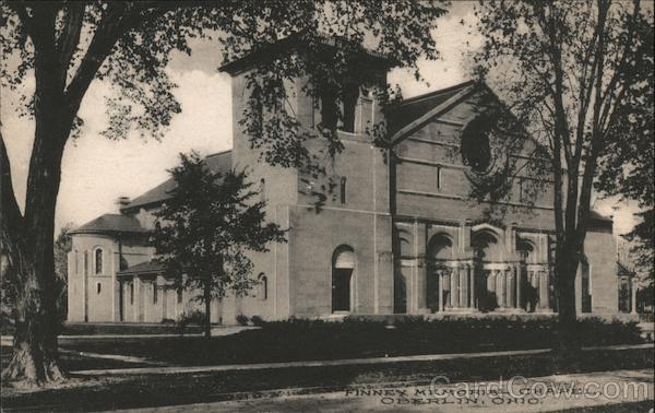 Finney Memorial Chapel Oberlin Ohio