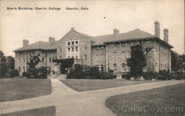 Men's Building, Oberlin College Ohio