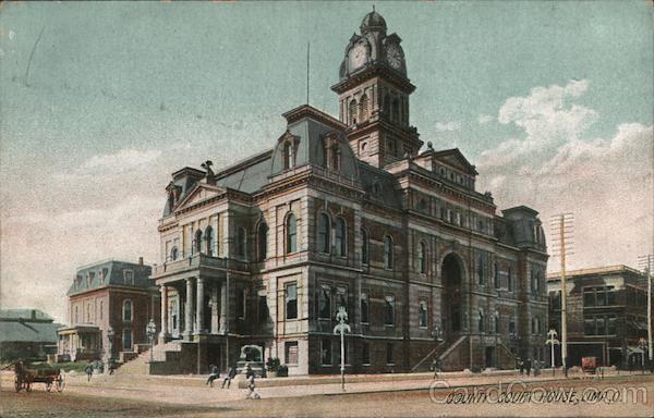 Allen County Court House Lima Ohio