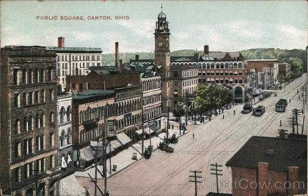 Public Square Canton Ohio