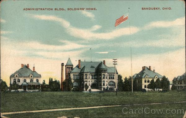 Administration Bldg., Soldiers' Home Sandusky Ohio