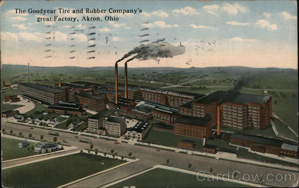 The Goodyear Tire And Rubber Company S Great Factory Akron