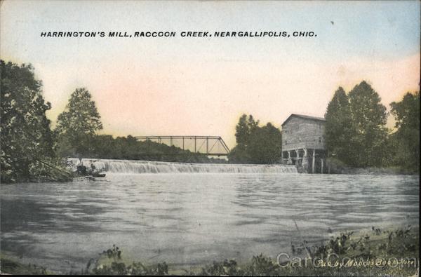 Harrington's Mill, Raccoon Creek Gallipolis Ohio