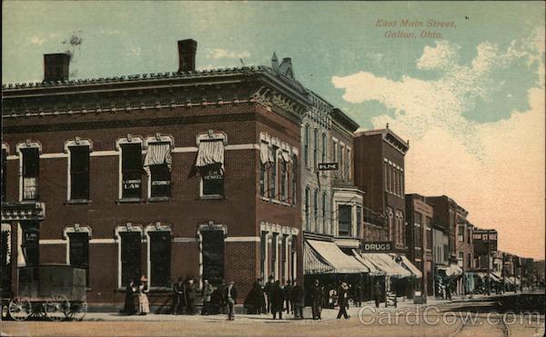 East Main Street Galion Ohio