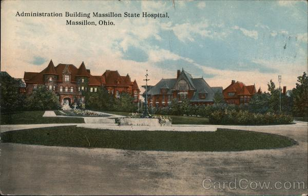 Administration Building, Massillon State Hospital Ohio