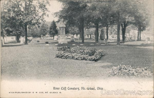 River Clift Cemetery Mount Gilead Ohio