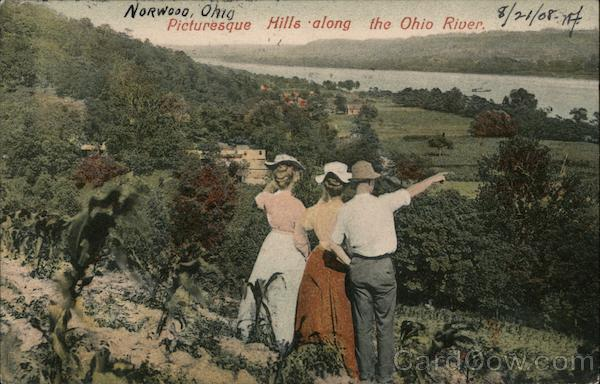 Picturesque Hills Along the Ohio River Norwood
