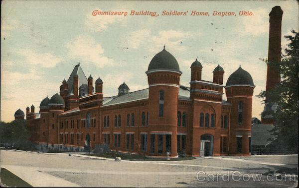 Commissary Building, Soldiers' Home Dayton Ohio