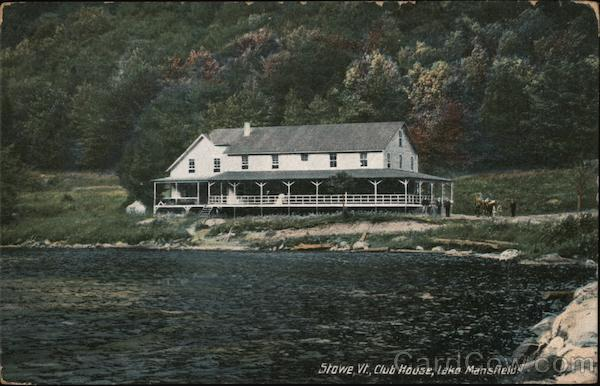 Club House, Lake Mansfield Stowe Vermont