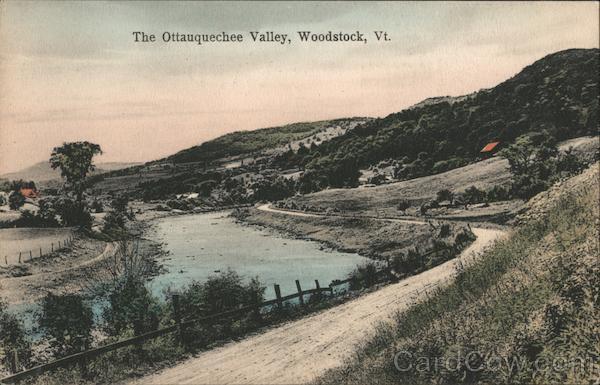 The Ottauquechee Valley Woodstock Vermont
