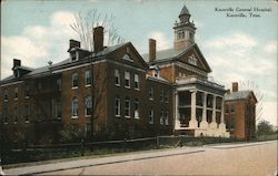 Knoxville General Hospital Postcard