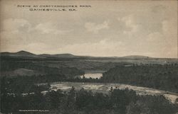 Scene at Chattahoochee Park Postcard