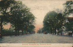 Broad St., Residential Section Postcard