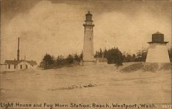 Light House and Fog Horn Station, Beach