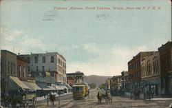 Yakima Avenue from the N.P.R.R.