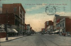 Yakima Ave. Looking West