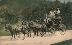 A White Mountain Stage Coach