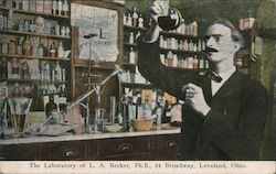 Laboratory of L.A. Becker, Ph.B., 24 Broadway
