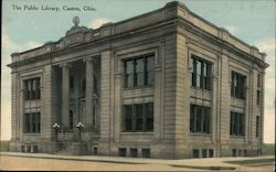 The Public Library Postcard