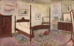 The Reposeful Four Poster Bed and the Room With It's Cheerful Hangings, The Dillgart and Bittner Co.