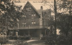 Webster Hall, Oberlin College Postcard