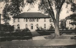 Administration Building, Oberlin College Postcard