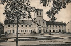 School of Theology at Oberlin College Postcard