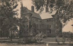 Peters Hall, Oberlin College Postcard
