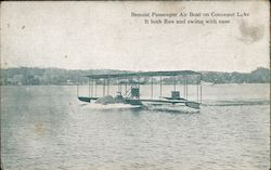 Benoist Passenger Air Boat on Conneaut Lake