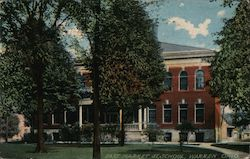 East Market Street School Postcard
