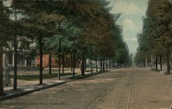 Cleveland Avenue looking North Postcard