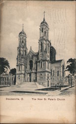 The New St. Peter's Church Postcard