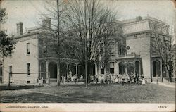 Childrens Home Postcard
