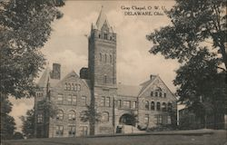 Gray Chapel, OWU Postcard