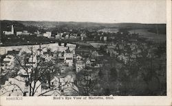 Bird's Eye View of Marietta, Ohio