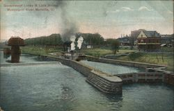Government Locks & Lock House, Muskingum River