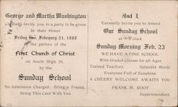 First Church of Christ Correspondence Card