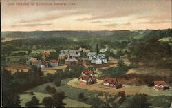Ohio Hospital for Epileptics, General View Postcard