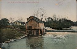 Old King's Mills, built about 1880 Postcard