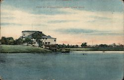 View of McCullough Lake Postcard