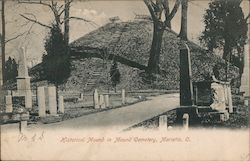 Historical Mound in Mound Cemetery