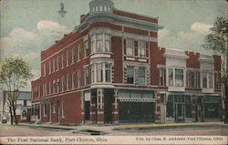 The First National Bank Postcard
