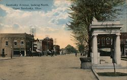 Sandusky Avenue, looking North